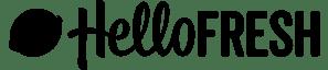 Hello Fresh Logo schwarz